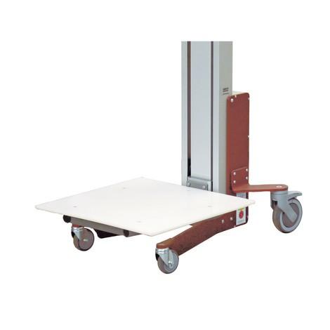 Zvedací zařízení HOVMAND s plastovou platformou, nosnost 70 kg