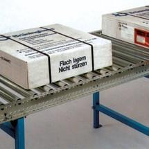 Zwaarlastrollenbanen, bocht, baanbreedte 400 mm