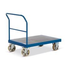 Zware lading plateauwagen Rotauro. Capaciteit tot 2200 kg