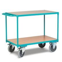 Zware tafelwagen Ameise®, 2 laadvlakken