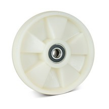 Zwenkwiel van nylon voor palletwagen Ameise®