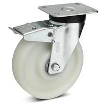 Zwenkwiel voor zware lasten Wicke van polyamide, incl. vastzetrem in de naloop