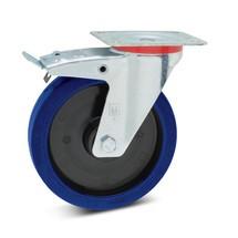 Zwenkwiel Wicke van elastisch massief rubber, incl. vastzetrem, laat geen strepen achter