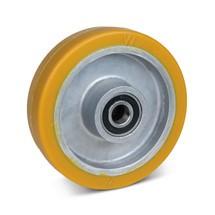 Zwenkwiel Wicke van polyurethaan, velg van aluminium