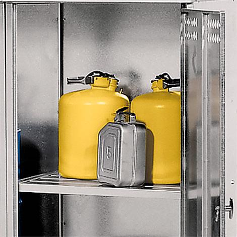 Zwischenboden für Fass-Depot aus Stahl