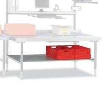 Zwischenboden für Hüdig + Rocholz Packtisch-System